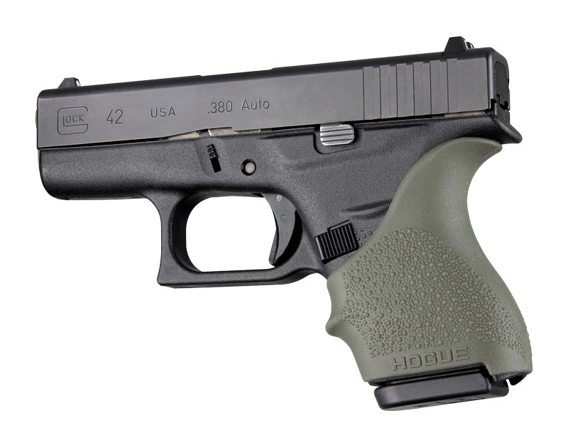 GLOCK 42, 43: HandALL Beavertail Grip Sleeve - OD Green