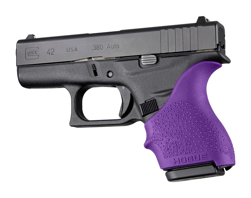 GLOCK 42, 43: HandALL Beavertail Grip Sleeve - Purple