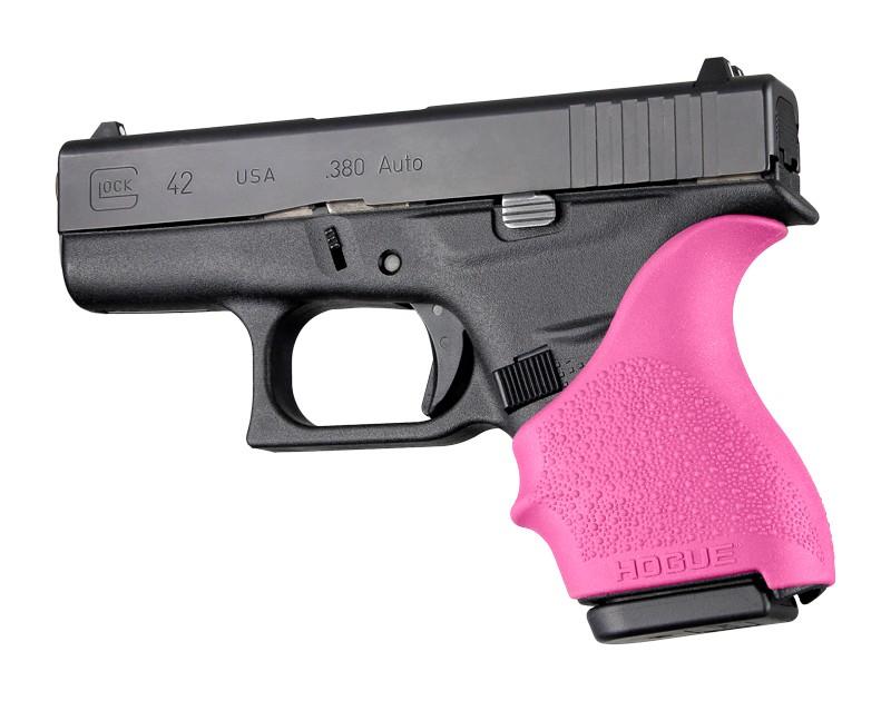 GLOCK 42, 43: HandALL Beavertail Grip Sleeve - Pink