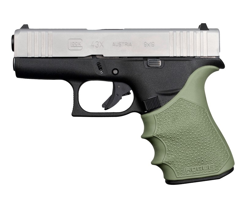 GLOCK 43X, 48: HandALL Beavertail Grip Sleeve - OD Green