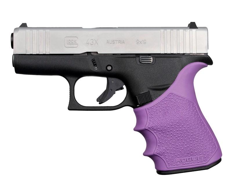 GLOCK 43X, 48: HandALL Beavertail Grip Sleeve - Purple