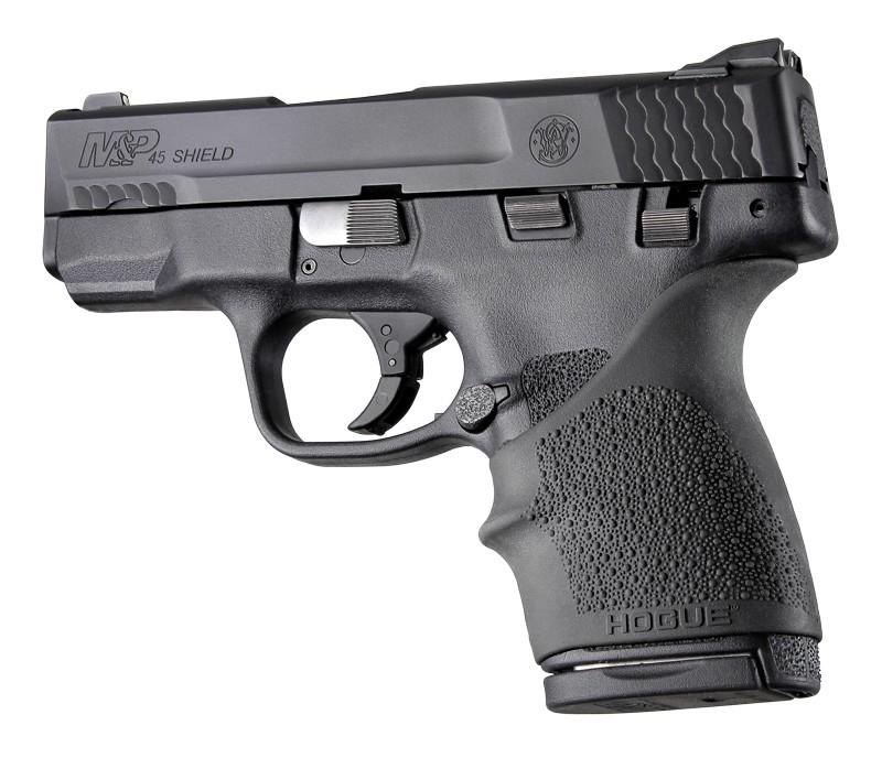 S&W M&P Shield 45 / Kahr P9, P40, CW9, CW40: HandALL Beavertail Grip Sleeve - Black