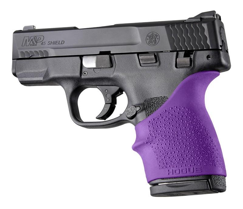 S&W M&P Shield 45 / Kahr P9, P40, CW9, CW40: HandALL Beavertail Grip Sleeve - Purple
