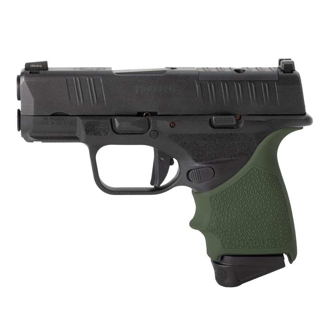 Springfield Armory Hellcat: HandALL Beavertail Grip Sleeve - OD Green