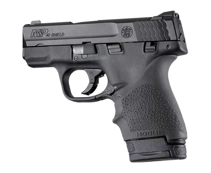 S&W M&P Shield 9mm & 40 / Ruger LC9, EC9: HandALL Beavertail Grip Sleeve - Black