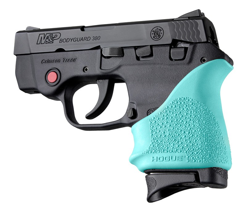 S&W Bodyguard 380 / Taurus TCP & Spectrum: HandALL Beavertail Grip Sleeve - Aqua
