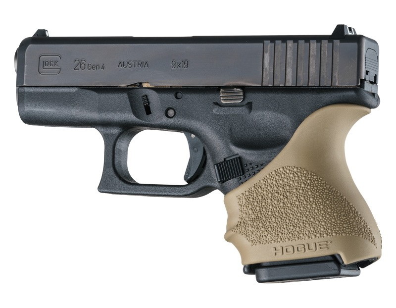 GLOCK 26, 27: HandALL Beavertail Grip Sleeve - FDE