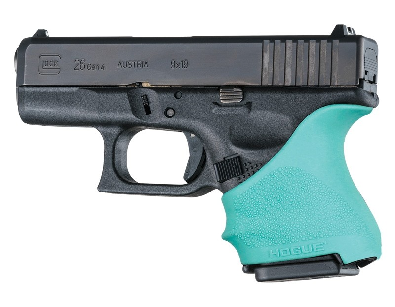 HandAll Beavertail Grip Sleeve Glock 26/27 Aqua