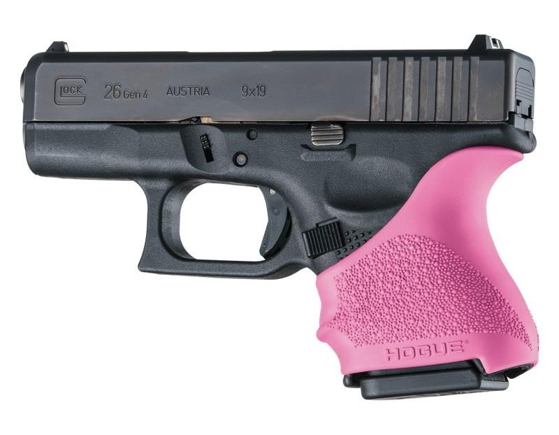 GLOCK 26, 27: HandALL Beavertail Grip Sleeve - Pink