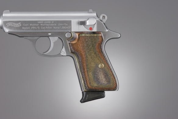 Walther PPK/S and PP Lamo Camo Checkered