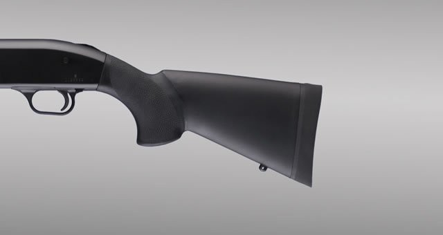 "Mossberg 500 12 and 20 Gauge OverMolded Shotgun Stock - 12"" L.O.P."