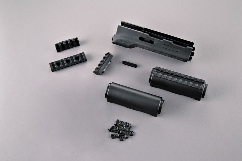 AK-47/AK-74 Standard Chinese and Russian - Forend with OverMolded Rubber Gripping area
