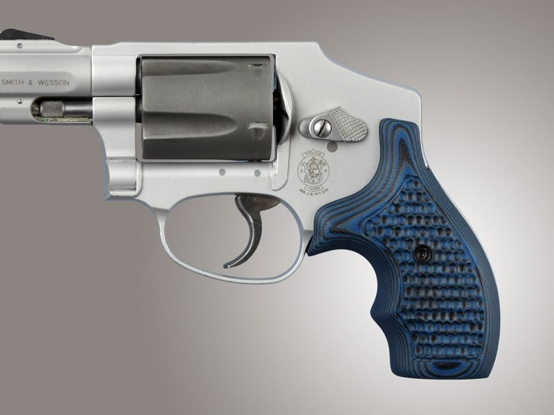 J Frame Revolvers - Grips for Smith & Wesson - Handgun Grips - Hogue ...