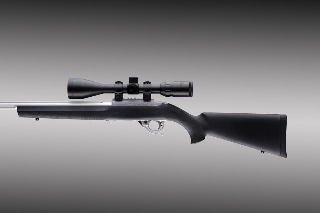 Ruger 10-22 Hard Nylon Stock with .920 Diameter Barrel Channel
