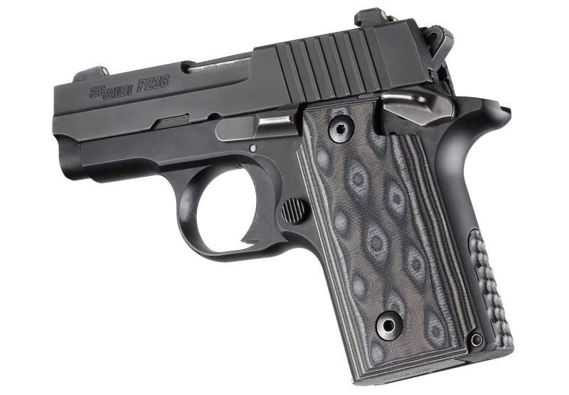 SIG Sauer P238 G10 - G-Mascus Black/Gray
