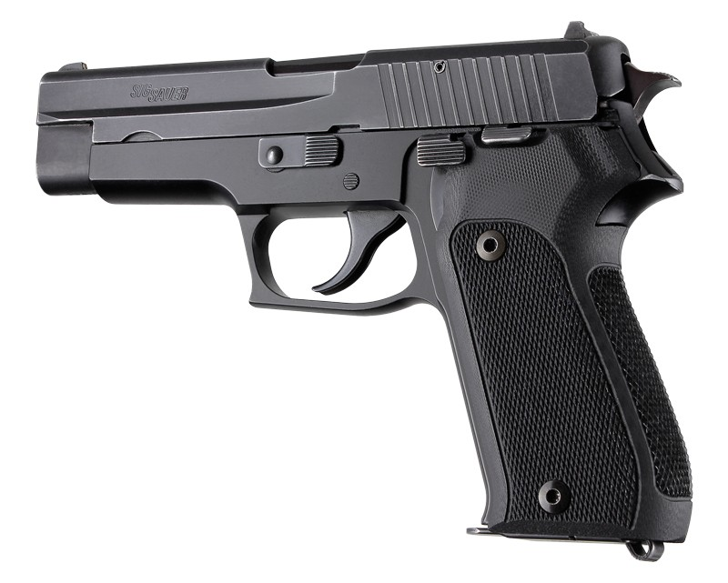 SIG Sauer P220 European Checkered G10 - Black