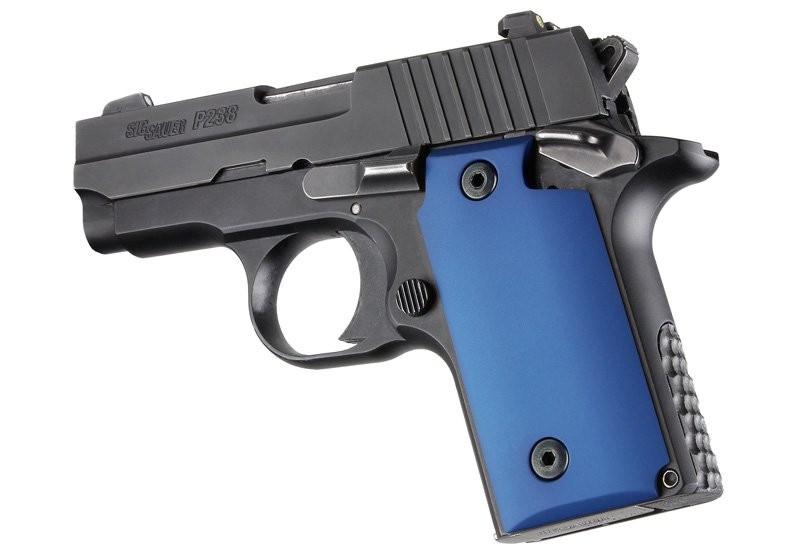 SIG Sauer P238 Aluminum - Matte Blue Anodize