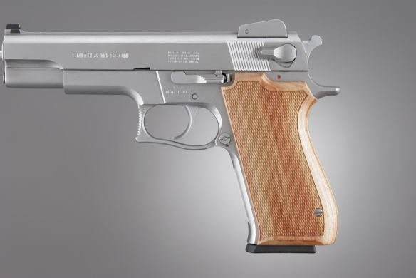 S&W 1006/4506 Series Tulipwood Checkered