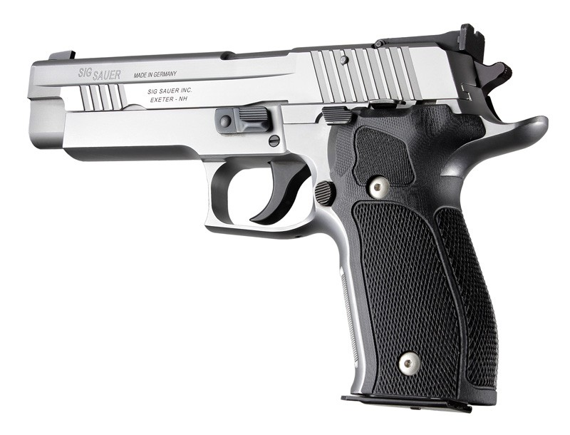 SIG Sauer P226 DA/SA Allround Checkered G10 - Solid Black