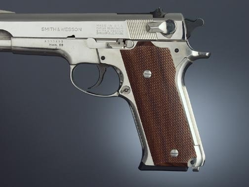 S&W Model 59 Auto, Pau Ferro Checkered