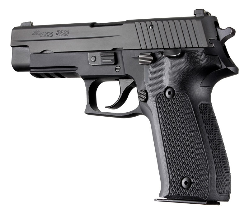SIG Sauer P226 Checkered G10 - Black