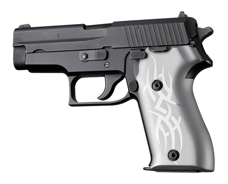 SIG Sauer P225 Tribal Aluminum - Clear Anodize