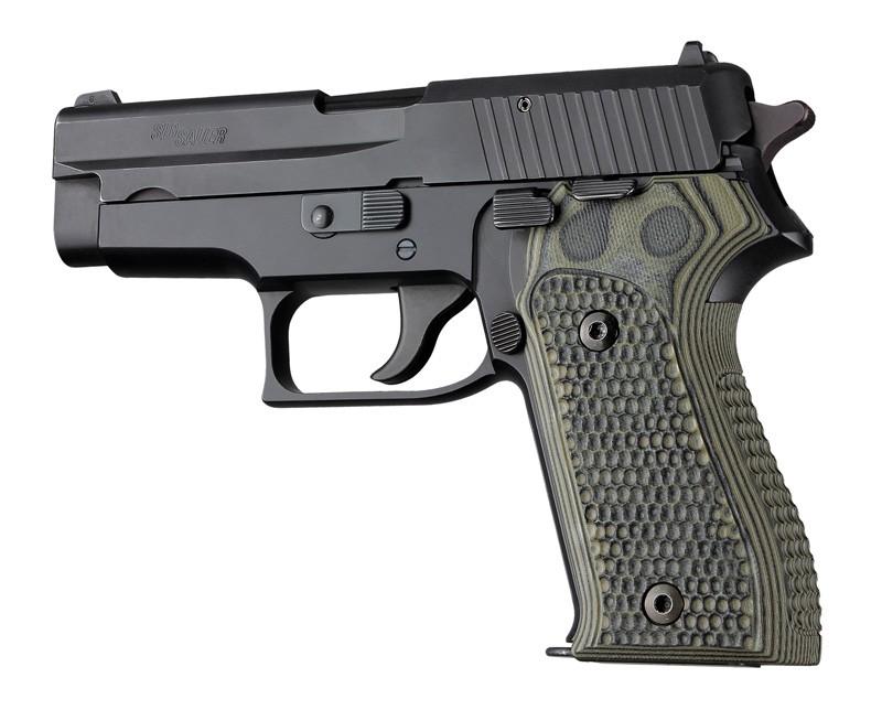 SIG Sauer P225 Piranha Grip G10 - G-Mascus Green