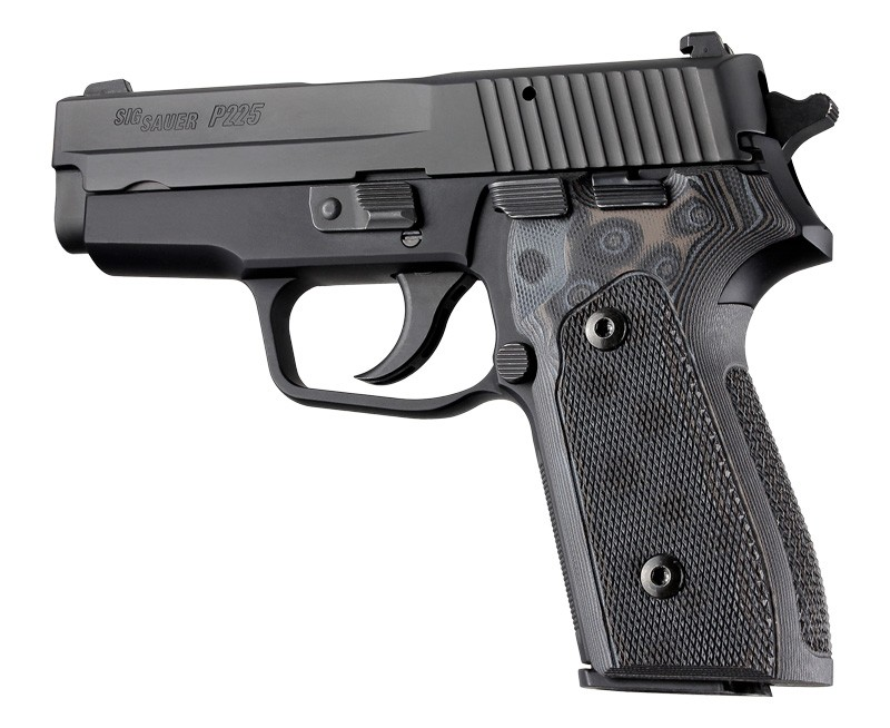 SIG Sauer P225-A1 Checkered G10 - G-Mascus Black/Grey
