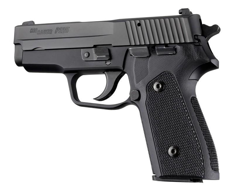 SIG Sauer P225-A1 Checkered G10 - Solid Black