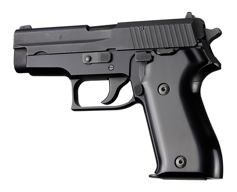 SIG Sauer P225 Aluminum - Brushed Gloss Black Anodize