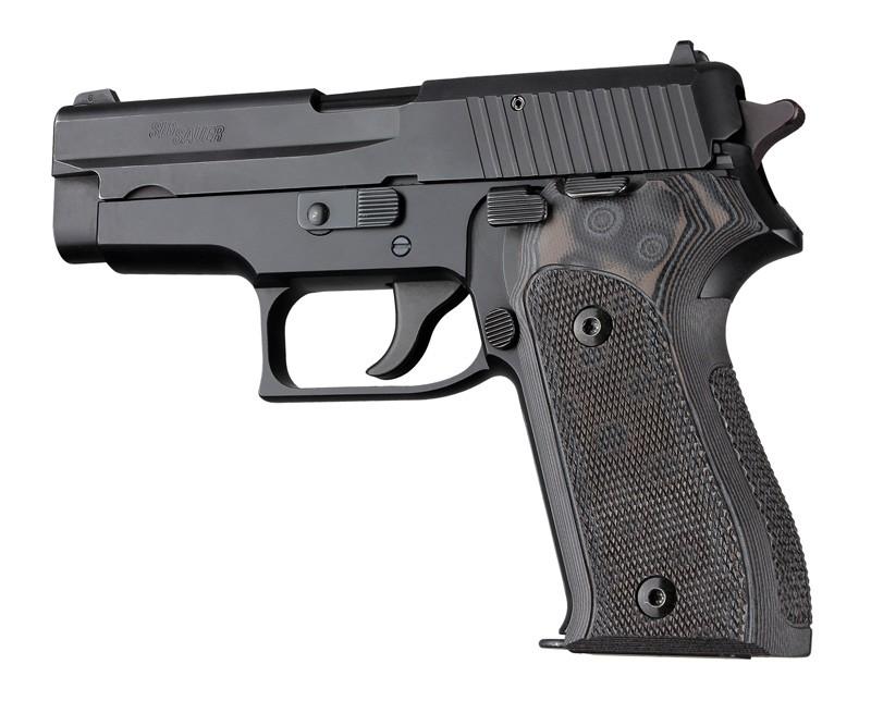 SIG Sauer P225 Checkered G10 - G-Mascus Black/Gray