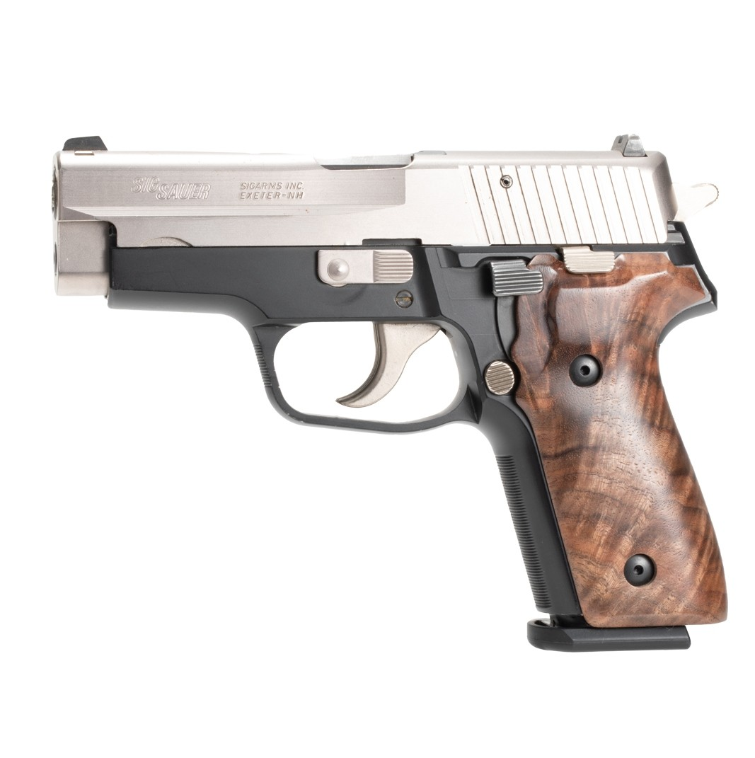 SIG SAUER P228/P229: Smooth Hardwood Grip - Walnut Burl