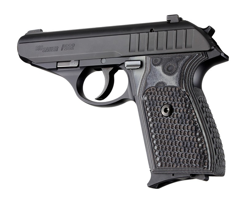 SIG Sauer P230 P232 Piranha Grip G10 - G-Mascus Black/Gray