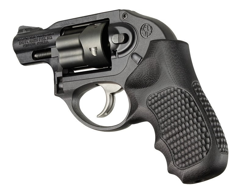 Ruger LCR/LCRx: Solid Black Piranha G-Mascus G10 Grip