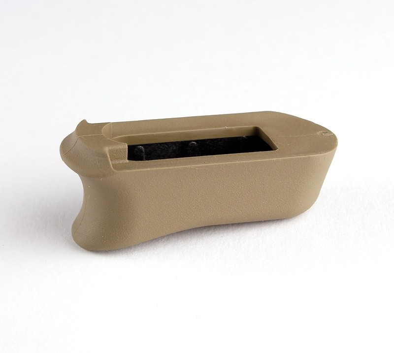 Kimber Micro 9: FDE Rubber Magazine Extended Base Pad