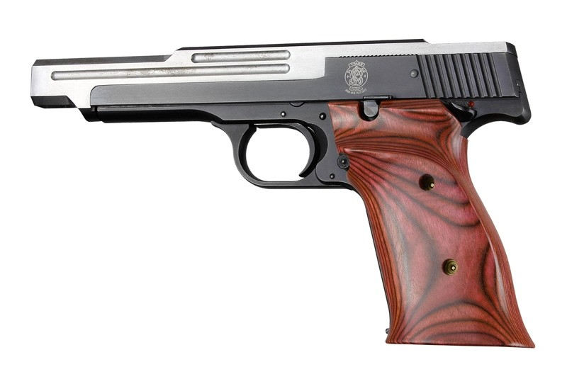 S&W 41 Rosewood laminate Right hand thumb rest