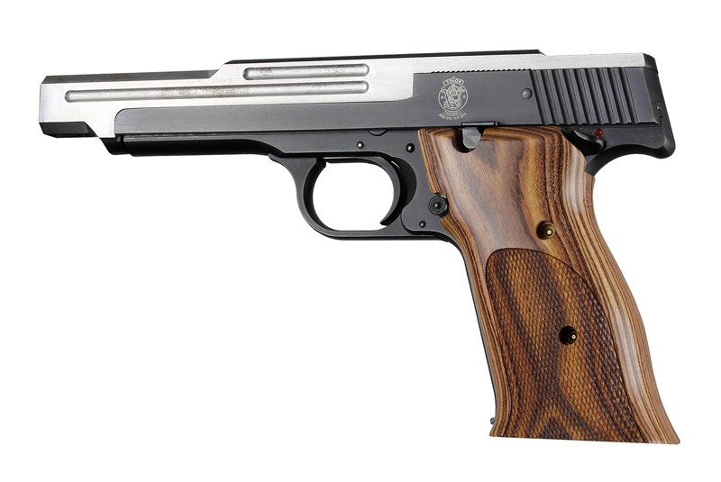 S&W 41 Kingwood Checkered