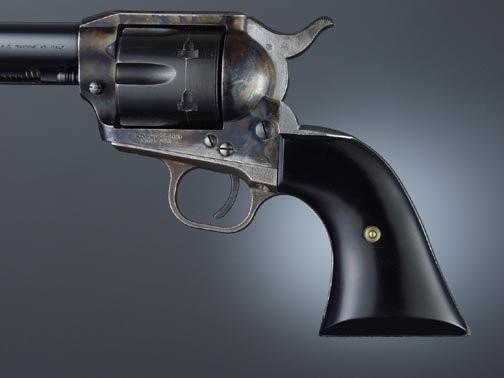 Colt Single Action Black Micarta Cowboy Panels
