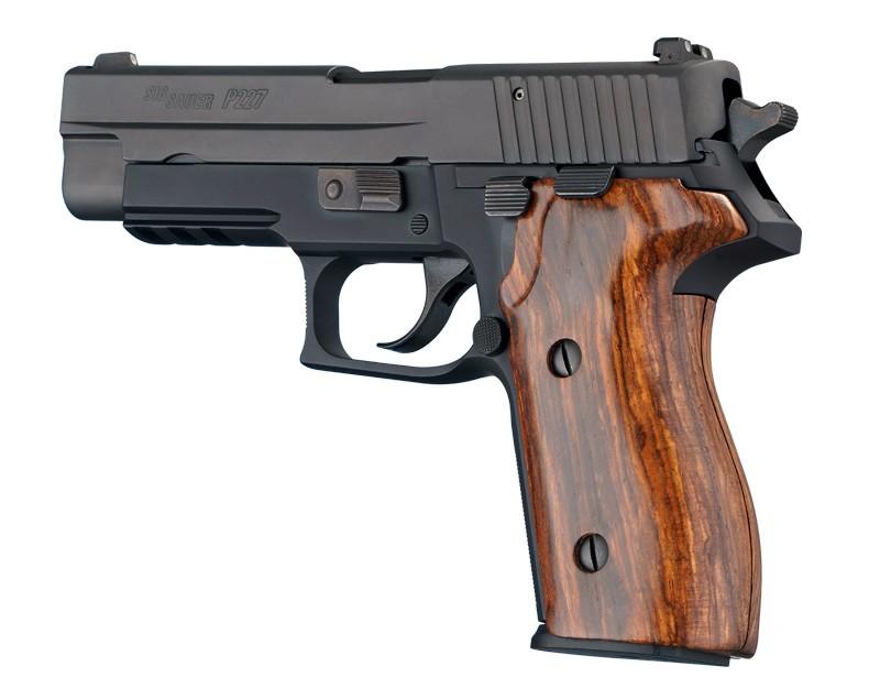 SIG Sauer P227 DA/SA Cocobolo