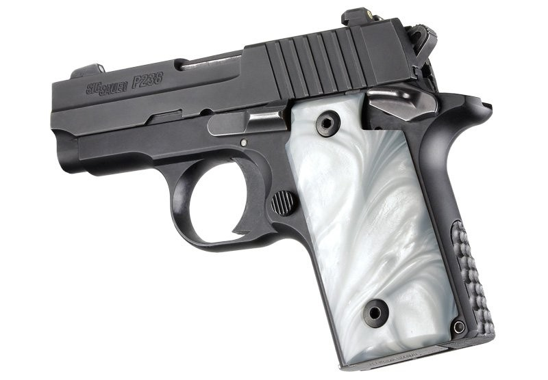 SIG Sauer P238 White Pearlized-Polymer