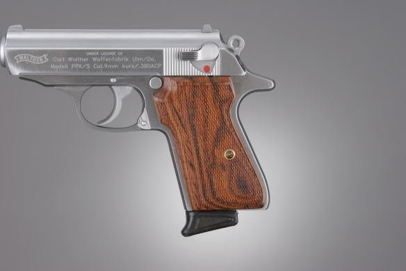 Walther PPK/S and PP Cocobolo Checkered
