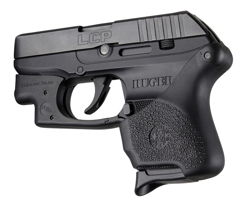 Handall Hybrid Ruger LCP Crimson Trace Button Grip Sleeve Black