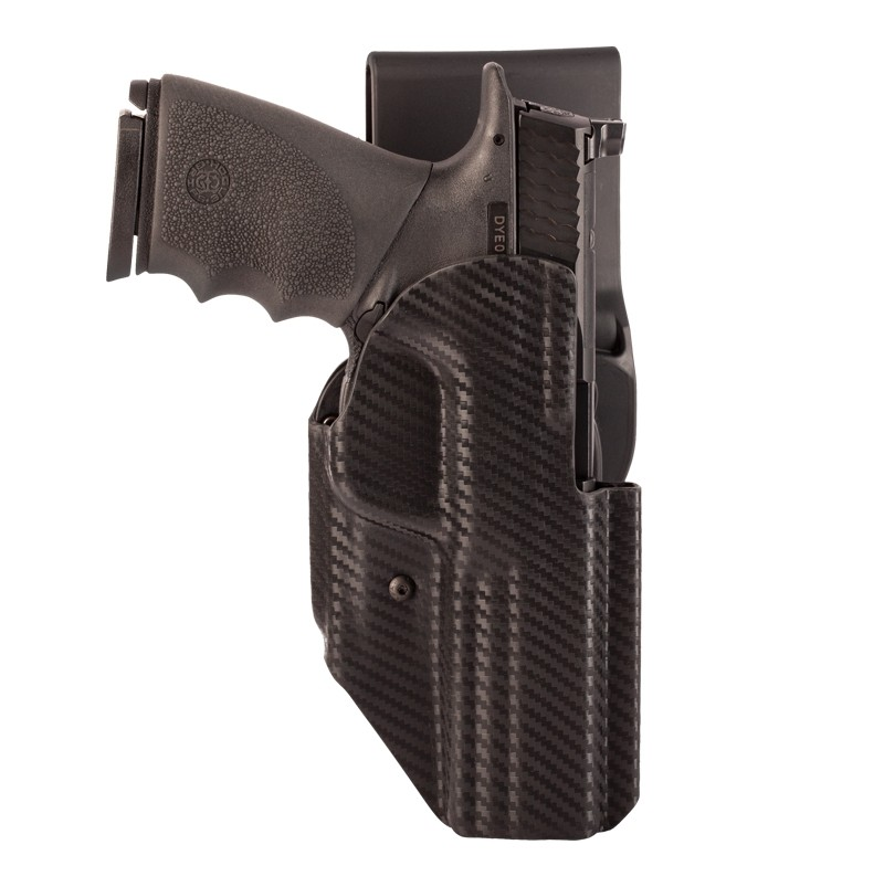 S&W M&PL 9MM, 40S&W, 357SIG: ARS Stage 1 Sport Holster (Right Hand) - CF Weave