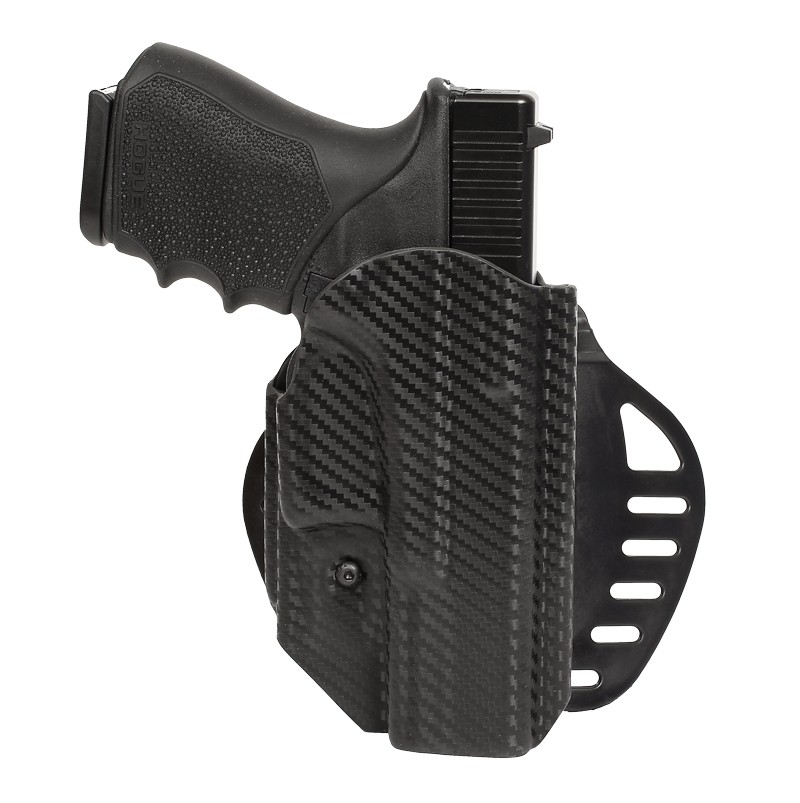 GLOCK 19, 23, 25, 32, 38, 45: ARS Stage 1 Carry Holster (Right Hand) - CF Weave