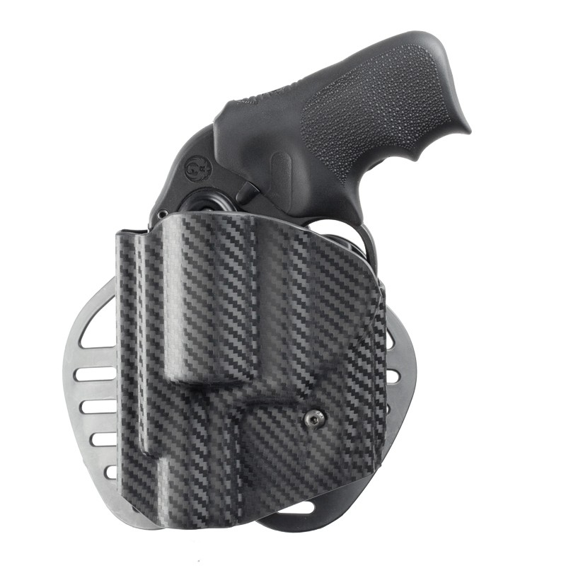 Ruger LCR: ARS Stage 1 Carry Holster (Left Hand) - CF Weave