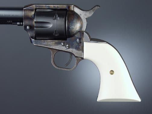 Colt Single Action Ivory Polymer Cowboy Panels