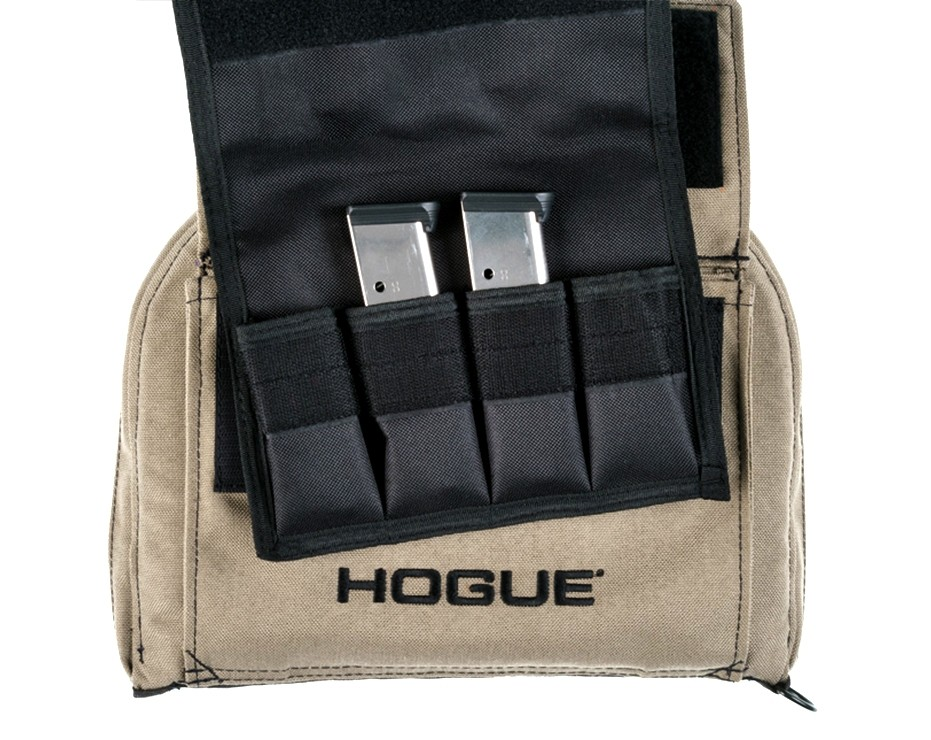 FDE Medium Pistol Bag with 4 Magazine Pouch