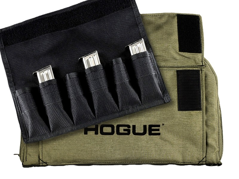 Large Pistol Bag with Magazine Pouch (6) - OD Green