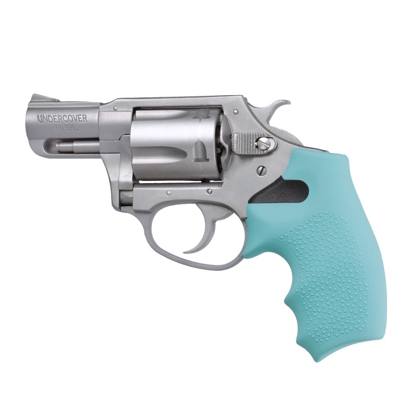 Charter Arms: OverMolded Rubber Monogrip - Aqua