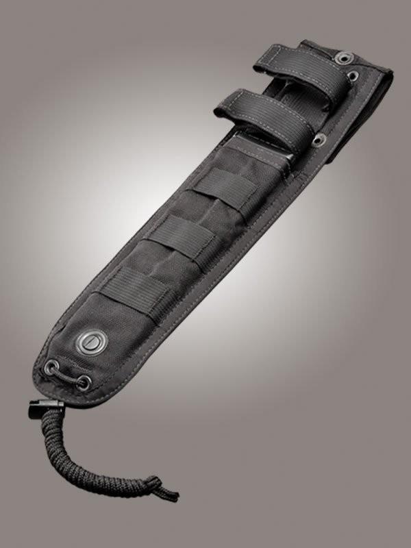 """Hogue Gear Fixed Blade Slim Sheath Black 12"""" OAL"""